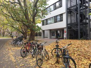 Hokkaidon yliopiston pohjoiskirjasto lokakuussa 2017